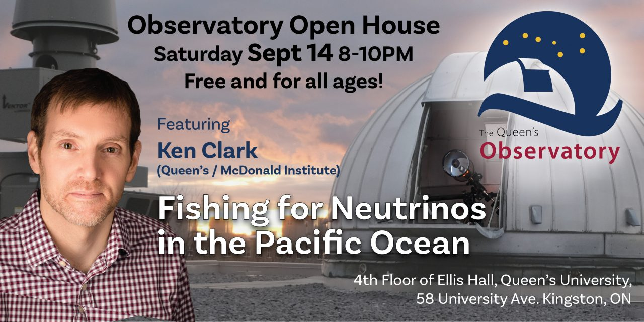 Poster with Dr. Ken Clark's image, detailing the event details.