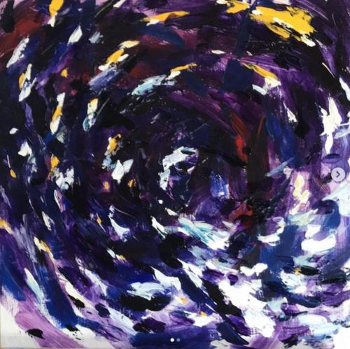 "Artist: Zac Kenny </br>Title: ""The Dark Sector"""